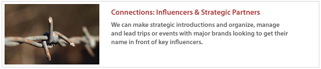 Connections: Influencers 7 Strategic Partners
